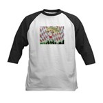 All Races - Painting by Howar Kids Baseball Jersey