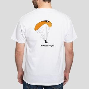 Paragliding Friends Off Cliff Shirt T-Shirt