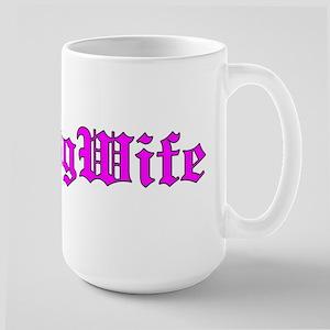 Thug Wife Logo plain Mugs