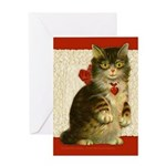 5 x 7 card_cat Greeting Cards