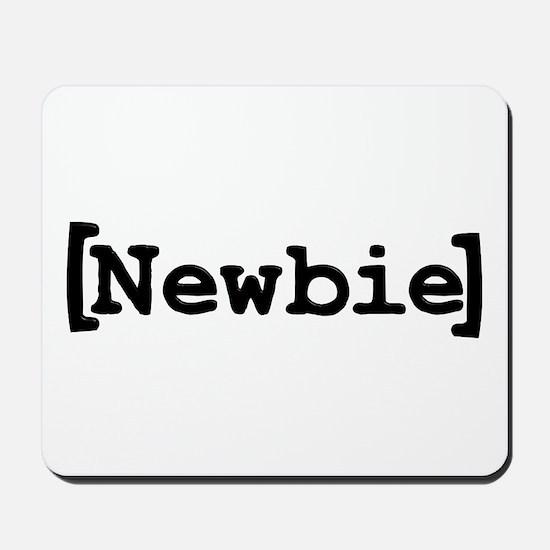 [Newbie] Mousepad