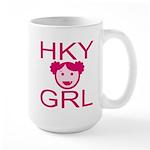 HKY GRL Large Mug