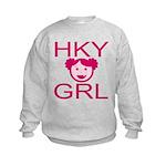 HKY GRL Kids Sweatshirt