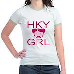 HKY GRL Jr. Ringer T-Shirt