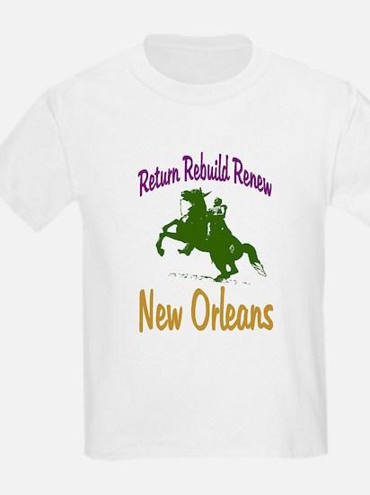 New Orleans Art  Kids T-Shirt
