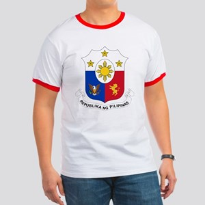 Philippines Coat of Arms Ringer T