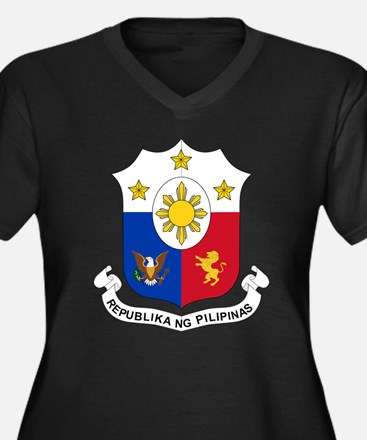 Philippines Coat of Arms (Front) Women's Plus Size