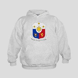 Philippines Coat of Arms Kids Hoodie