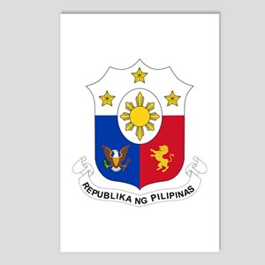 Philippines Coat of Arms Postcards (Package of 8)