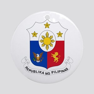 Philippines Coat of Arms Ornament (Round)