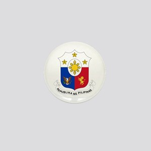 Philippines Coat of Arms Mini Button