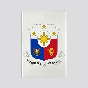 Philippines Coat of Arms Rectangle Magnet
