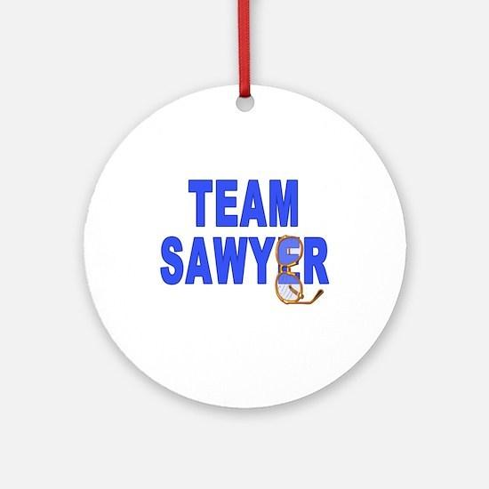 Lost TEAM SAWYER Ornament (Round)