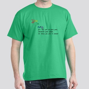 Yes Im Gay Dark T-Shirt