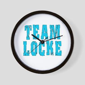 Lost TEAM LOCKE Wall Clock