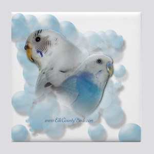 Elk County Birds' Tile Coaster