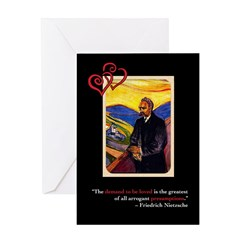 Friedrich Nietzsche Anti-Valentine's Day Card #3