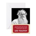 Leo Tolstoy Anti-Valentine's Day Card