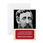Henry David Thoreau Anti-Valentine's Day Card