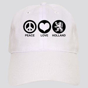 Peace Love Holland Cap
