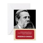 Fridrich Engels Anti-Valentine's Day Card