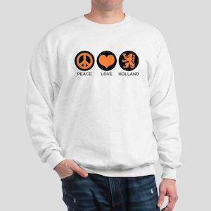 Peace Love Holland Sweatshirt