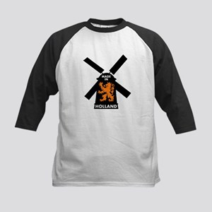 Made In Holland Kids Baseball Jersey
