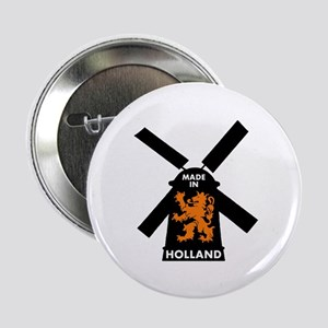 """Made In Holland 2.25"""" Button"""