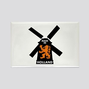 Made In Holland Rectangle Magnet