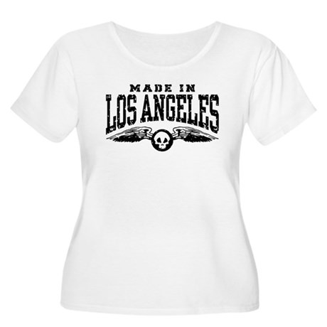 Made In Los Angeles Women's Plus Size Scoop Neck T
