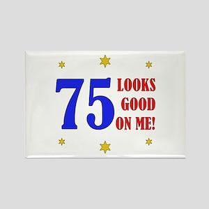 Fun 75th Birthday Rectangle Magnet