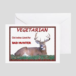 """Bad Hunter"" Greeting Cards (Pk of 10)"