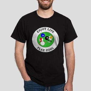 Enjoy Life Play Pool Dark T-Shirt