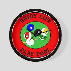 Enjoy Life Play Pool Wall Clock