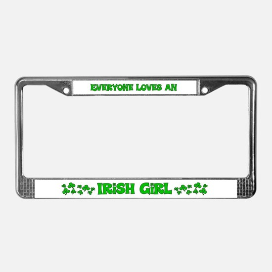 Irish License Plate Frame