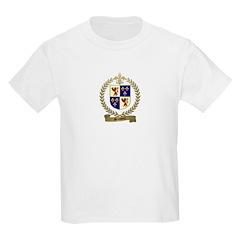 BRASSEUR Family Crest Kids T-Shirt