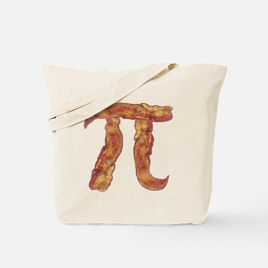 Bacon Pi Tote Bag