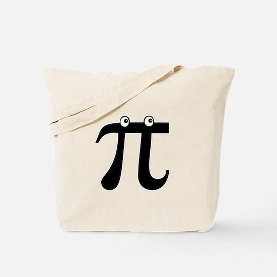 Peekin' Pi Tote Bag