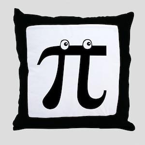 Peekin' Pi Throw Pillow