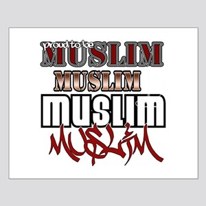 Proud to be muslim Small Poster