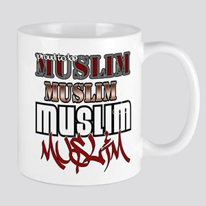 Proud to be muslim Mug