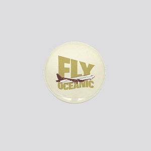 Fly Oceanic Mini Button