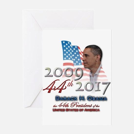 44th President - Greeting Card