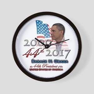 44th President - Wall Clock