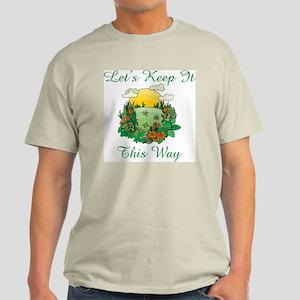 Earth Day Ash Grey T-Shirt