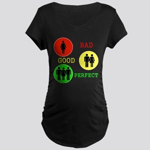 Threesome - MFM Maternity Dark T-Shirt