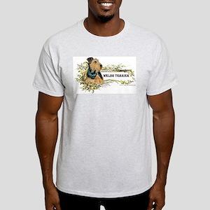 Vintage Welsh Terrier Ash Grey T-Shirt