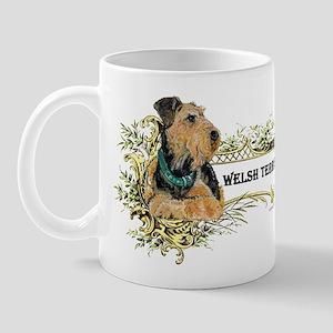 Vintage Welsh Terrier Mug