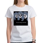 Women's White T-Shirt-3 Witches