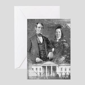 Valentine's Card Abe & Mary Todd
